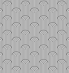 Monochrome striped flaked seamless pattern vector