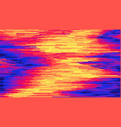 Striped background surface distortion vector