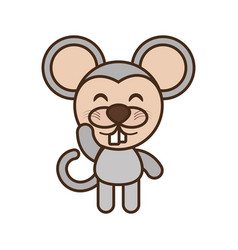 mouse baby animal funny image vector image