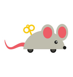 april fools day mouse surpris vector image vector image