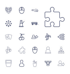 22 group icons vector