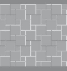 3d tile stone pattern floor vector