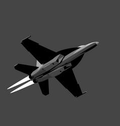 Boeing f-18f super hornet vector