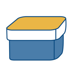 Box icon image vector