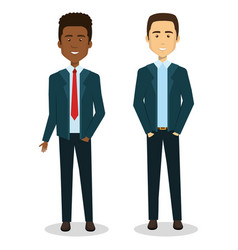 Business people avatars characters vector