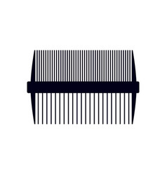 comb icon design template isolated vector image