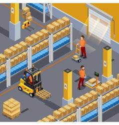 Inside Warehouse vector