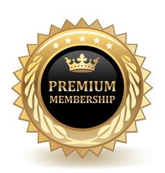 Premium Membership vector