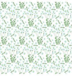 Seamless bluet pattern vector
