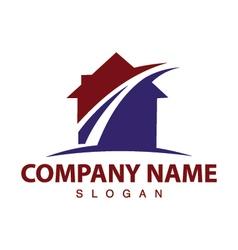 Street house logo vector