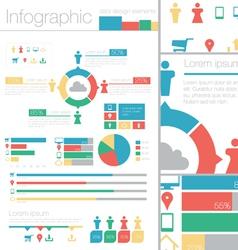 Info graphic data design elements vector