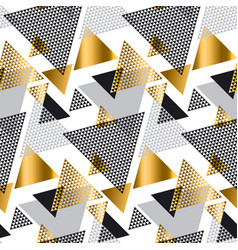 gold and gray elegant color creative repeatable vector image vector image