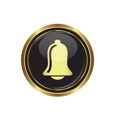 Ringing bell icon vector image vector image