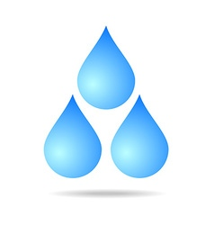 water clear element vector image vector image