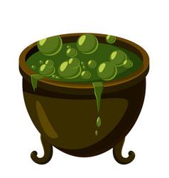 kettle icon cartoon style vector image