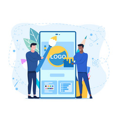 app for designers concept vector image