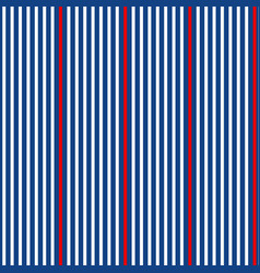 classic simple stripes seamless pattern vector image