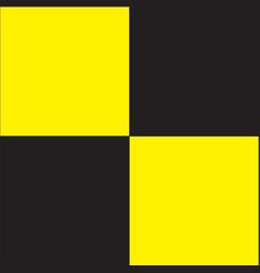 Quarantine flag vector