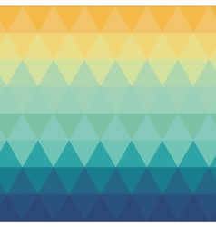 Triangle ombre pattern background vector