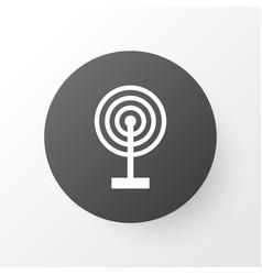 broadcast icon symbol premium quality isolated vector image vector image