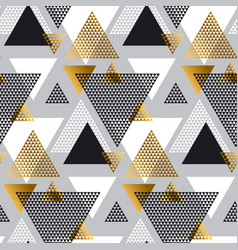 gold and black color creative repeatable motif vector image vector image