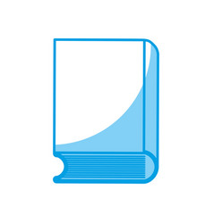 book icon image vector image