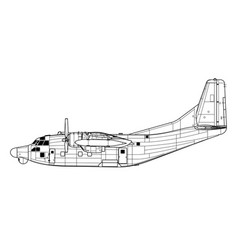 Fairchild ac-123k nc-123k vector