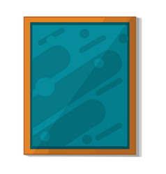 wall space picture icon cartoon style vector image