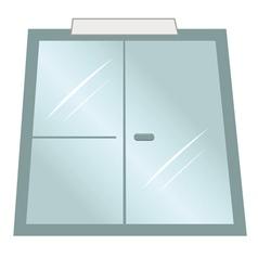 doors office vector image