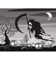 halloween Angel of Death vector image