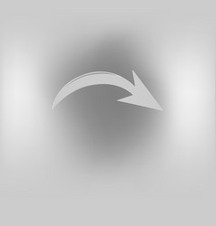 arrow sign vector image