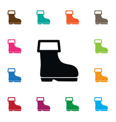 isolated wellies icon shoes element can be vector image