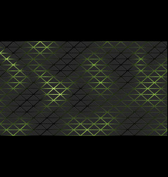 Black futuristic neon pattern background with vector
