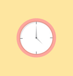 clock icon set of great flat icons use for vector image