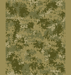 digital fashionable camouflage pattern vector image