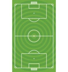 Green football field vector