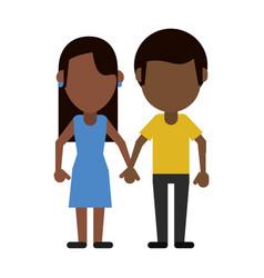 happy couple relationship vector image