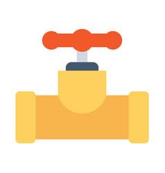 Industrial valve icon vector