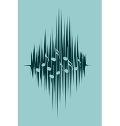 music relative image vector image