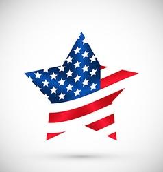 Patriotic united states america usa vector