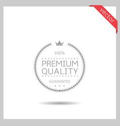 premium quality icon vector image