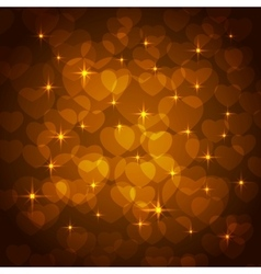 valentine bokeh background vector image