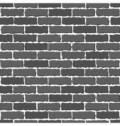 brown brick wall vector image vector image