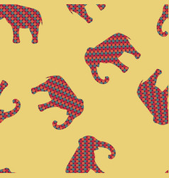 africa seamless pattern background vector image