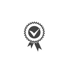 approved or certified medal icon vector image
