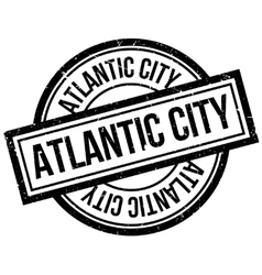 Atlantic City rubber stamp vector
