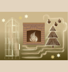 Cozy home vector