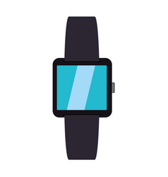 Smart watch technology vector