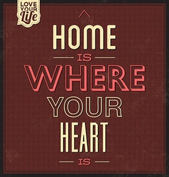 Vintage Quote Typographic Background vector image