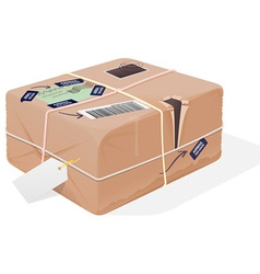 Mail Package vector image
